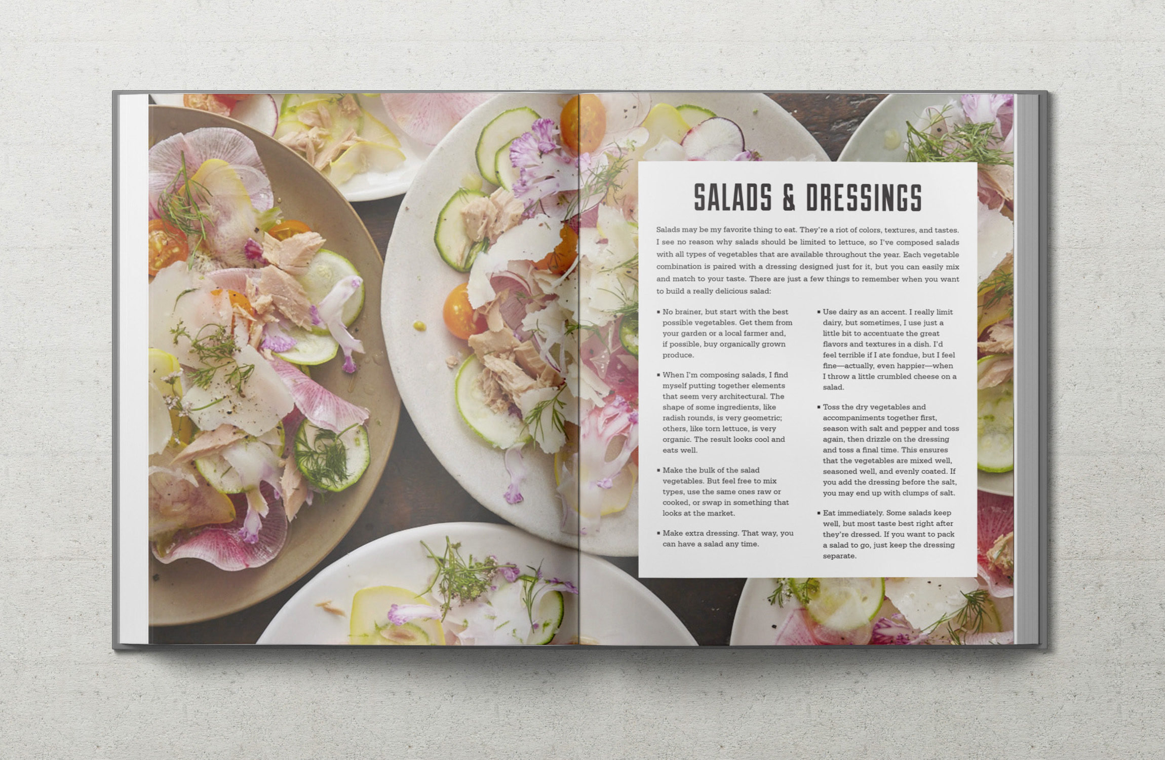 Real Food Heals intro about Salads and Dressings