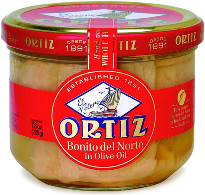 Ortiz canned tuna from Spain