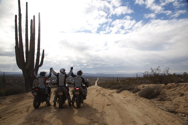 Seamus Mullen + Men's Journal Riding Motorcycles in Baja California, Mexico