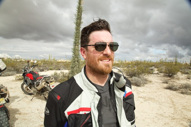 Seamus Mullen in Baja California, Mexico