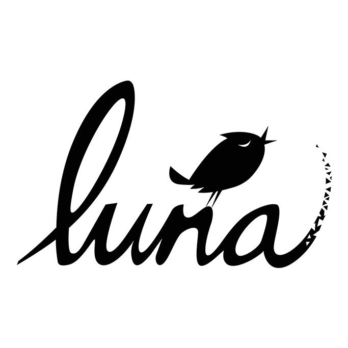 Luna (Black on White)
