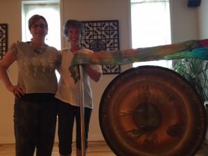 Kathy and Amy at Sacred Feminine Workshop