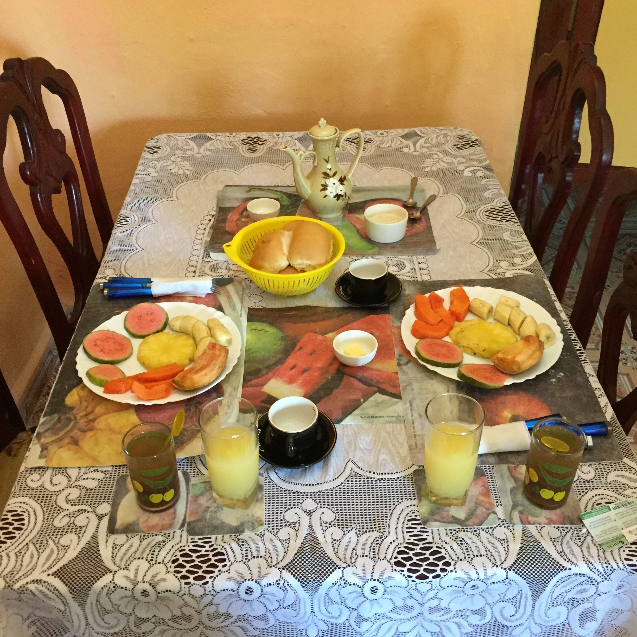 First Course of a Cuban Breakfast