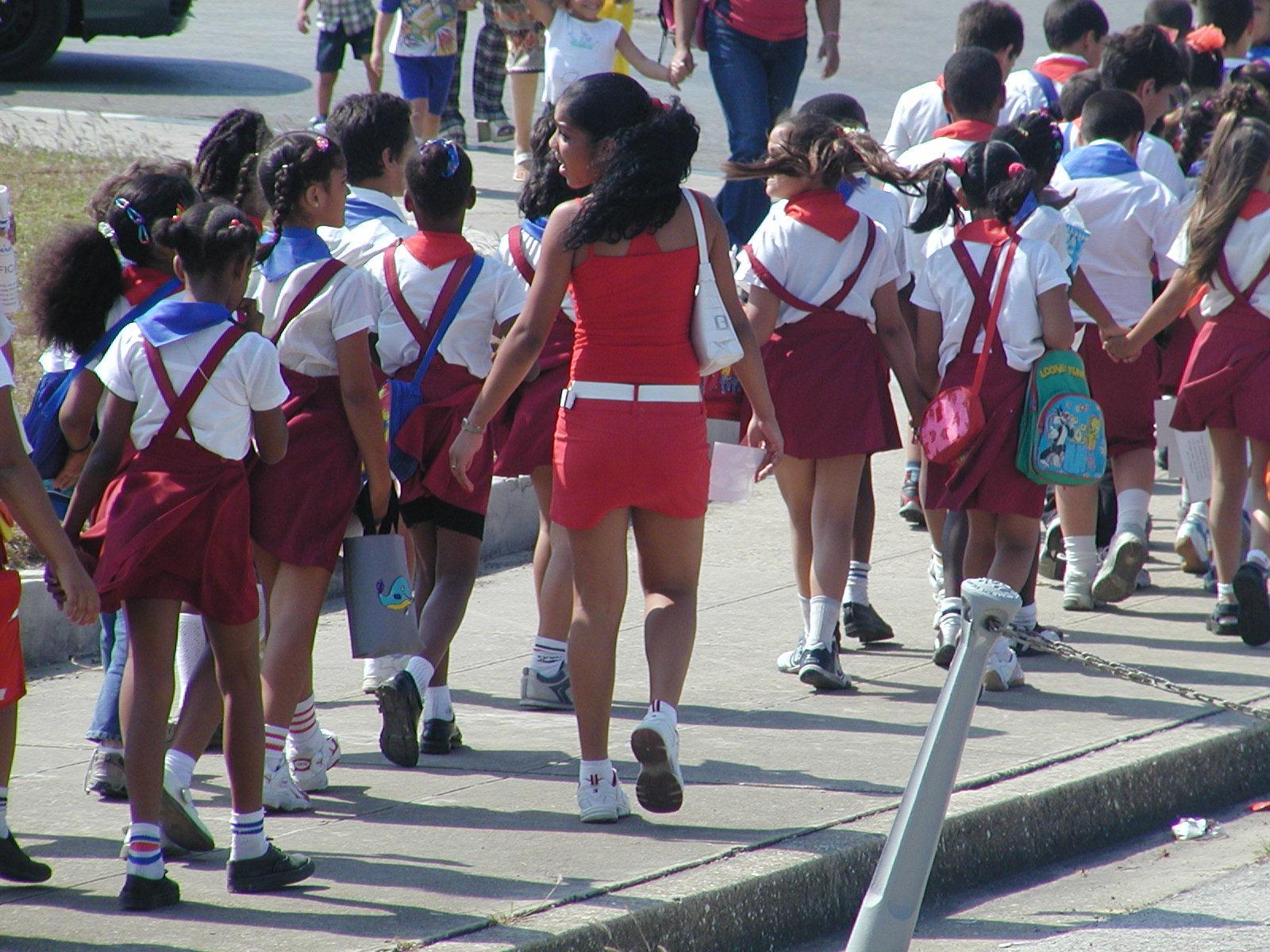 Cuban School Uniforms