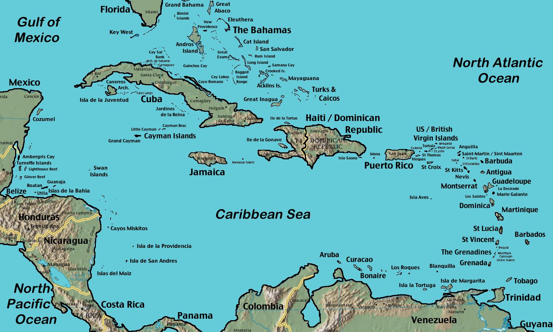 Caribbean Cuba Island