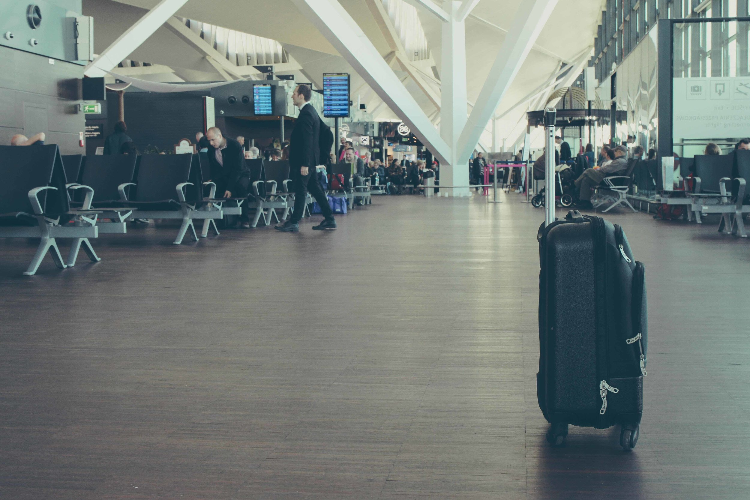 Baggage claim travel rights