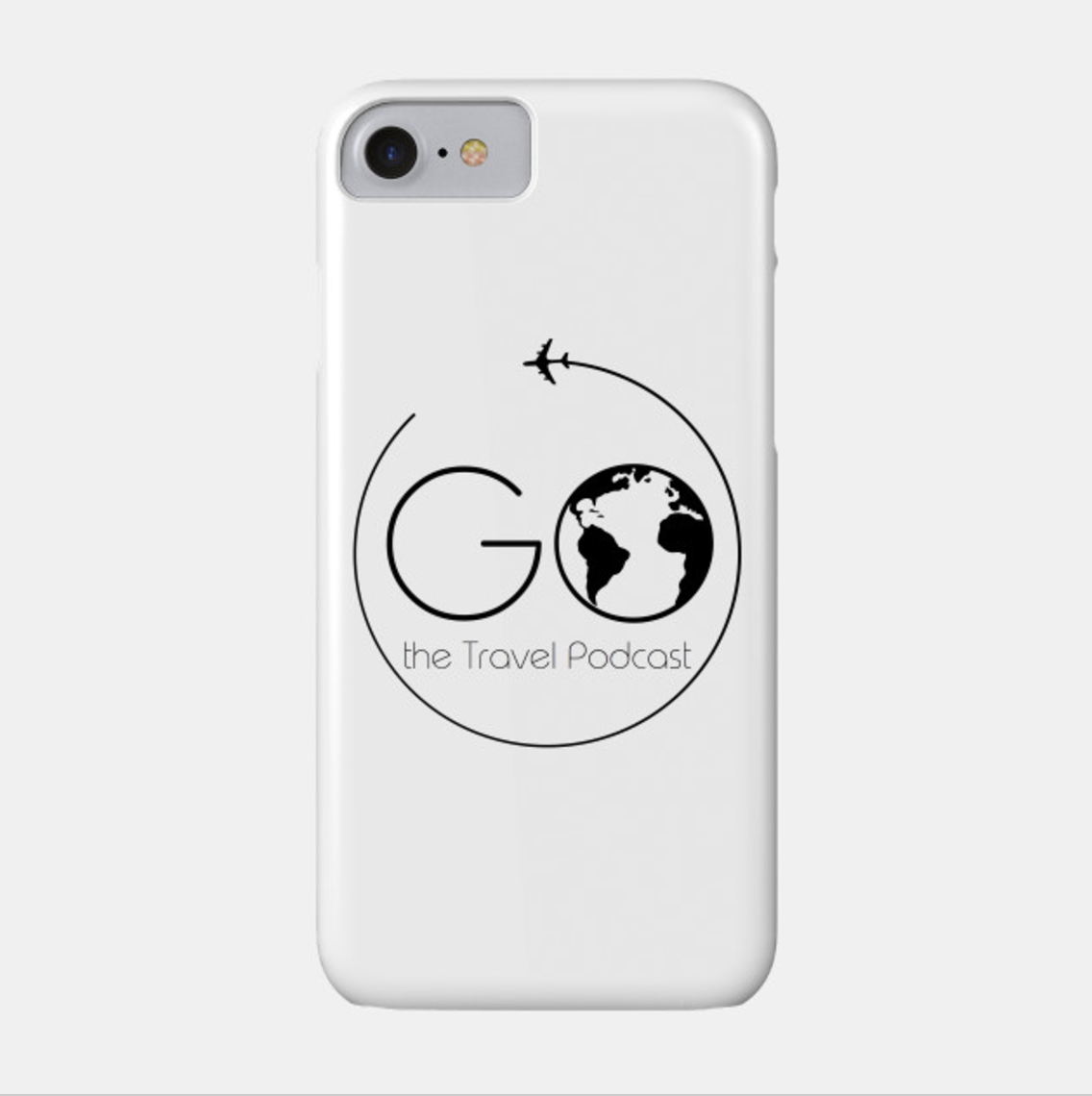 Go the Travel Podcast iPhone Case