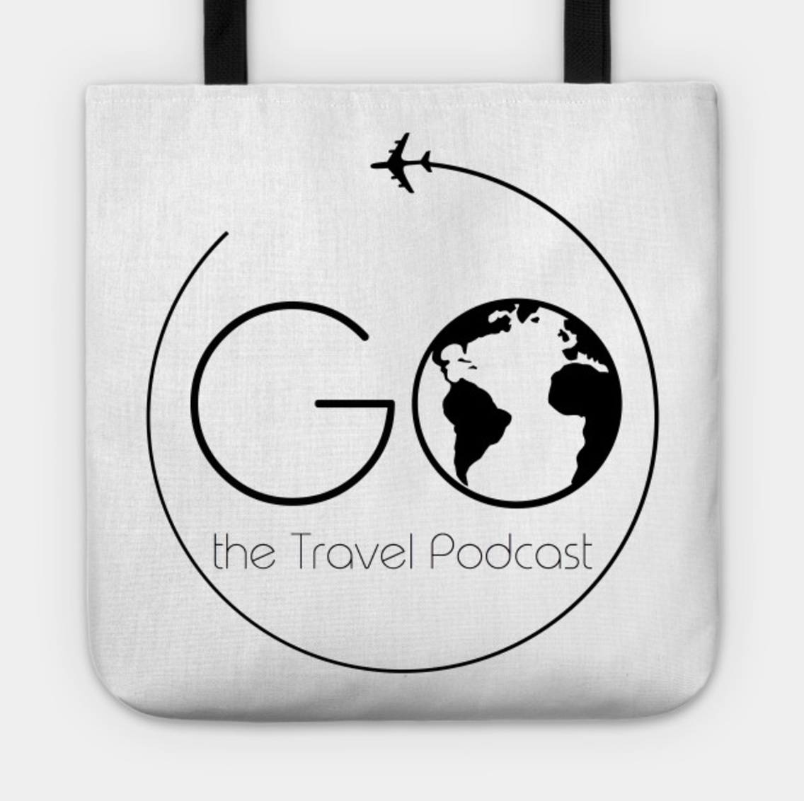 Go the Travel Podcast Tote Bag