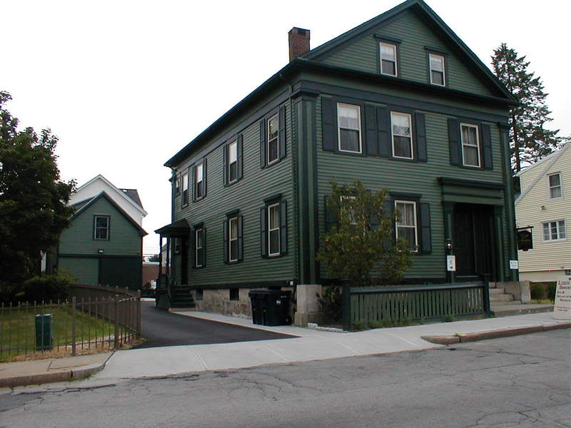 The Lizzie Borden House today
