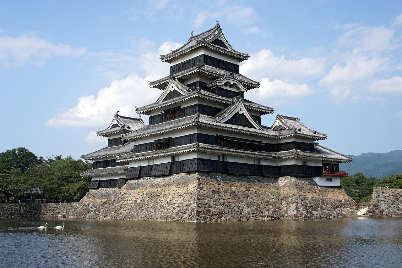 Matsumoto Castle in Matsumoto