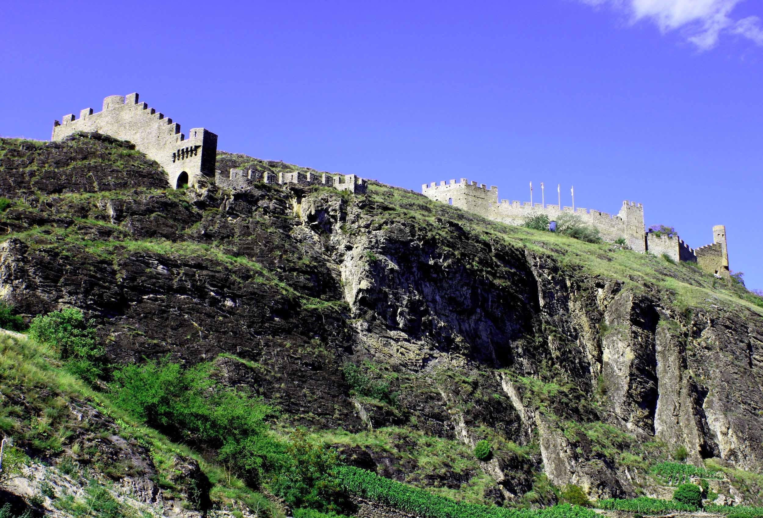 Tourbillon Castle in Sion