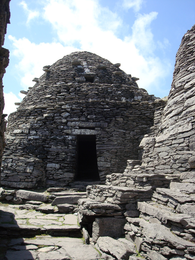 Beehive Hut on Skellig Michael  (Photo by  highlander411 )