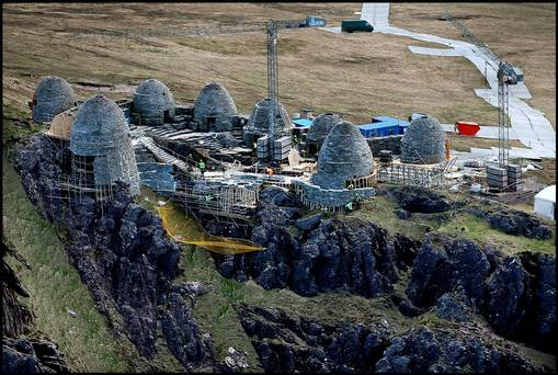 Replica Skellig Michael's Monastic site