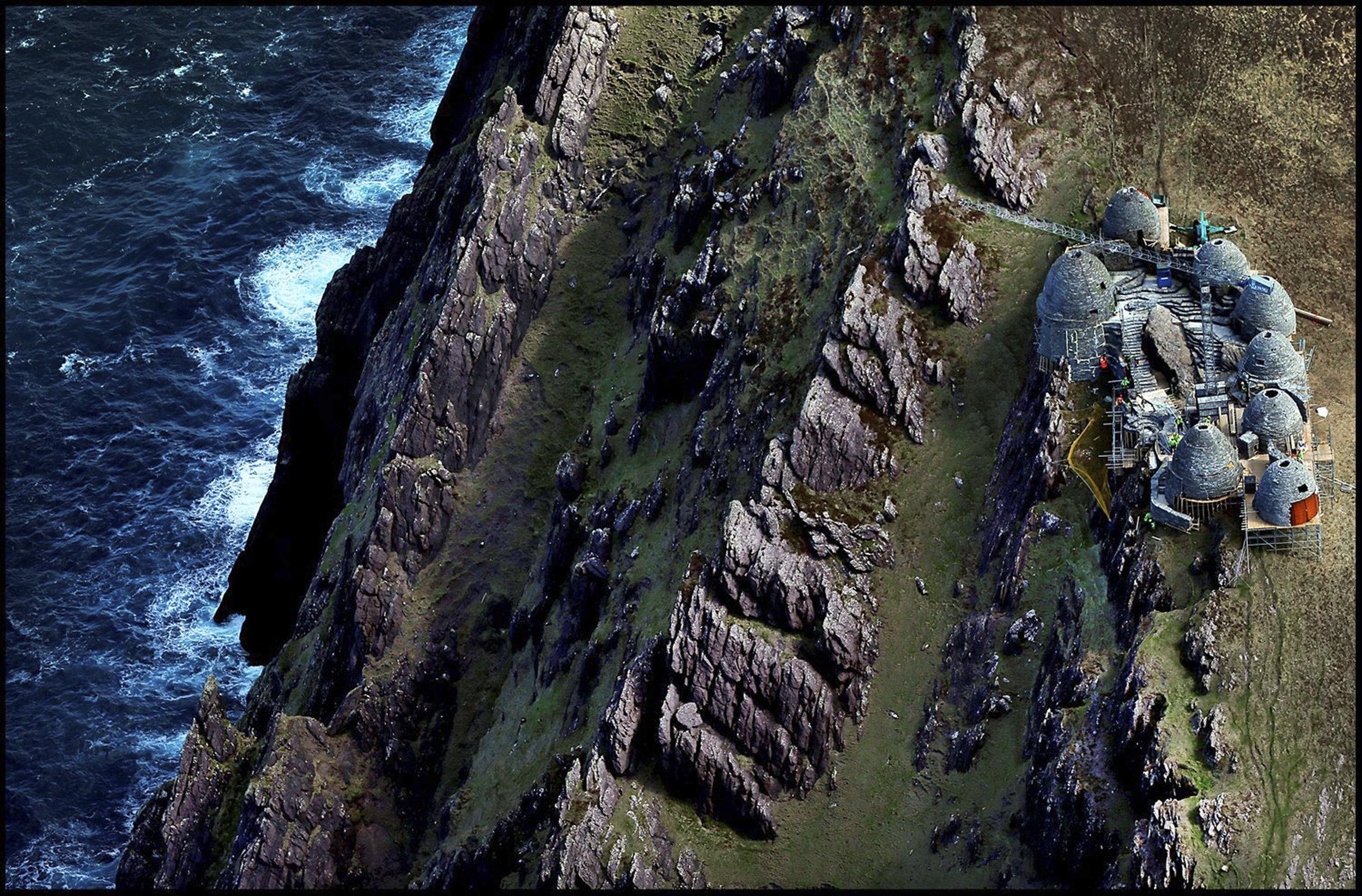 Life-size Replica Skellig Michael's Monastic site