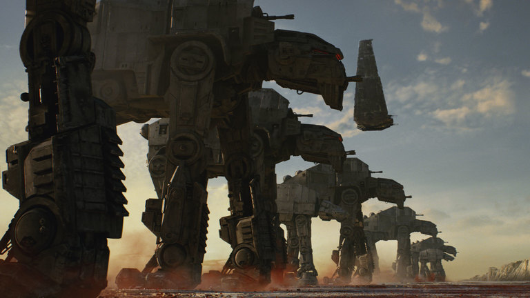 Updated Imperial Walkers for The Last Jedi