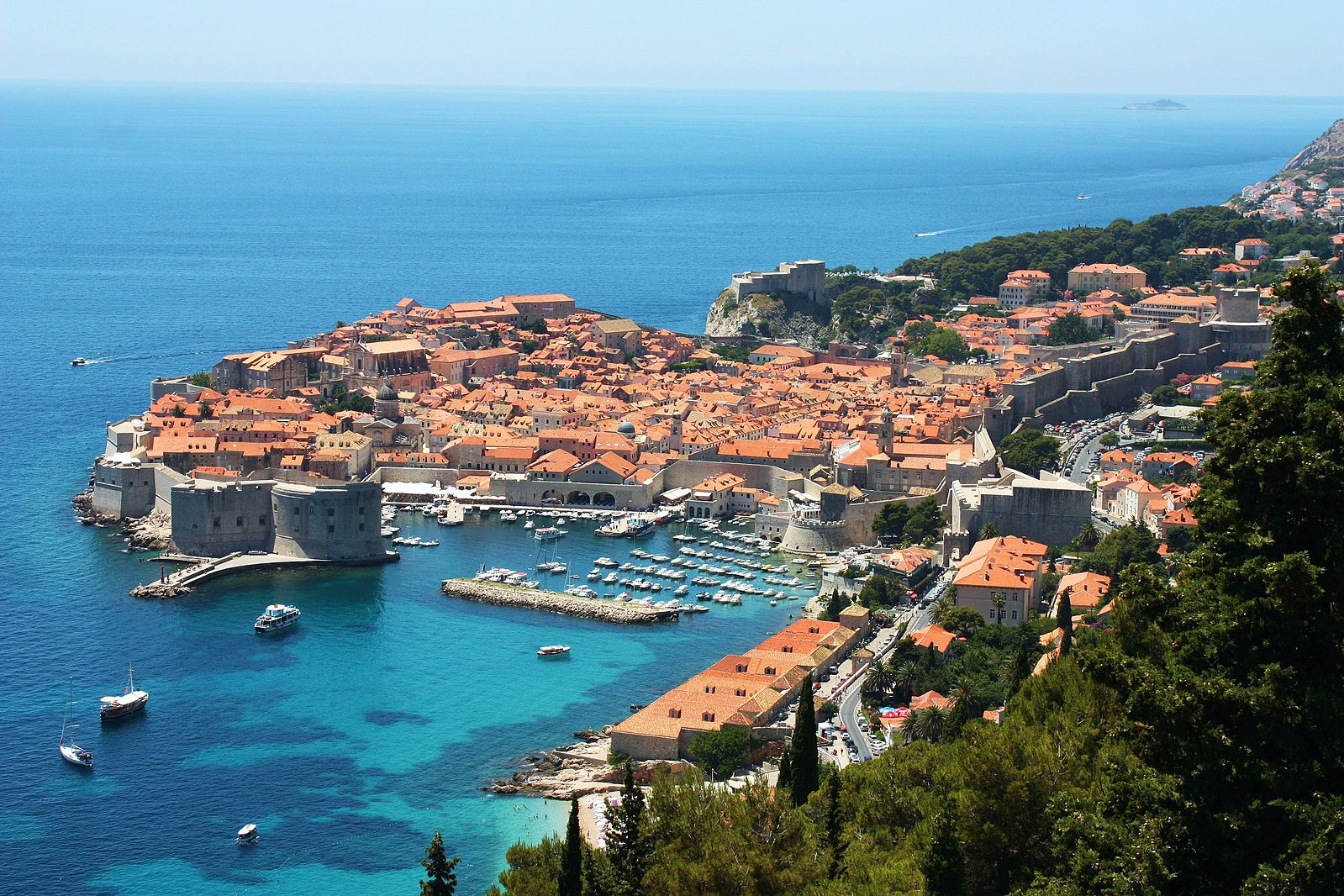 Dubrovnik  (Photo by  Bracodbk )