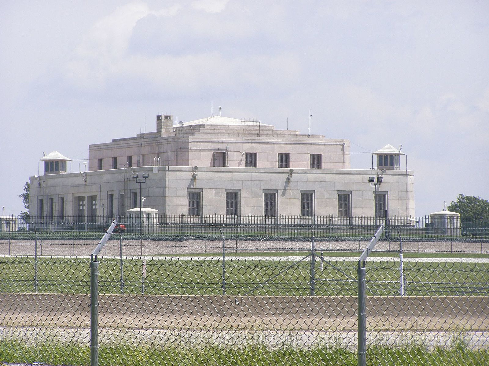 Security Fencing at Fort Knox