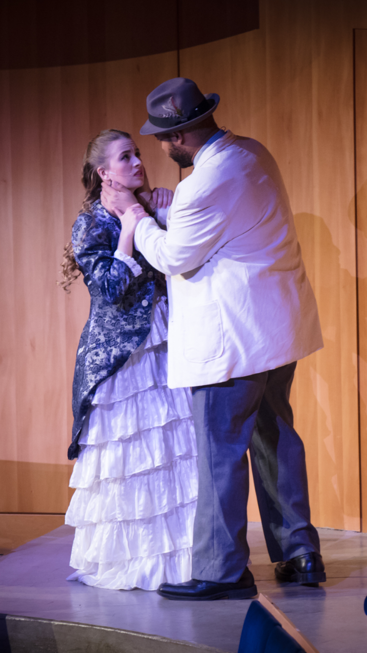A Midsummer Night's Dream , by William Shakespeare. Adapted and Directed by Sarah Lynn Brown. Nebraska Shakespeare and Omaha Symphony.  Photo by Casey Wood .