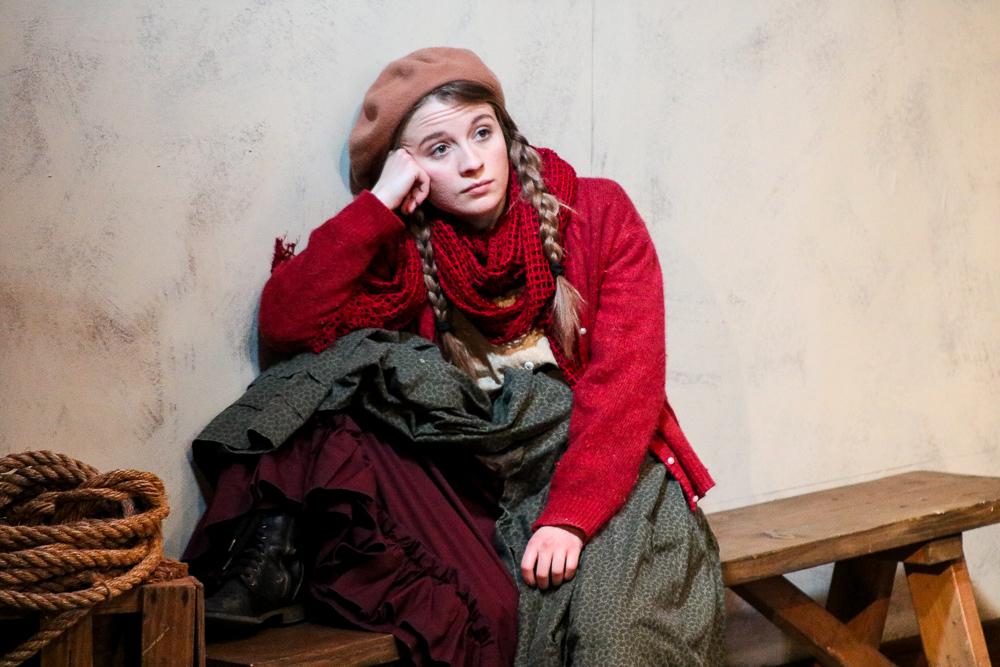 The Cripple of Inishmaan , by Martin McDonagh. Directed by Cathy Kurz. Brigit Saint Brigit Theatre Company.  Photo by Analisa Peyton .
