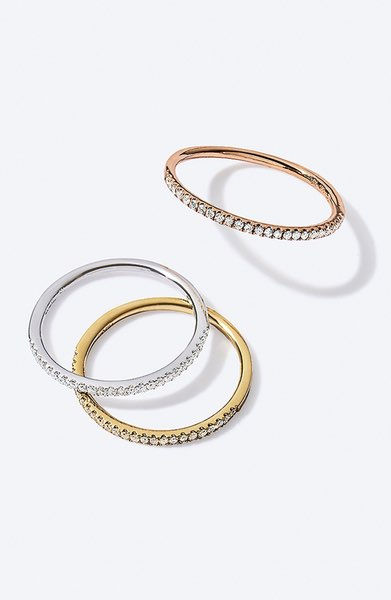 Splurge: Bony Levy Stackable Rings $795/each