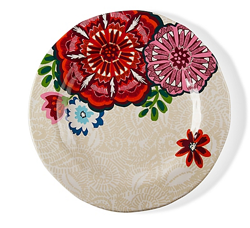 Bed, Bath & Beyond- Talavera Dinner Plates in Apricot (Set of 4) $50.99