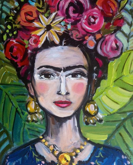 My Inspo! By Devine Paintings on Etsy, Stylized, Frida, Abstract