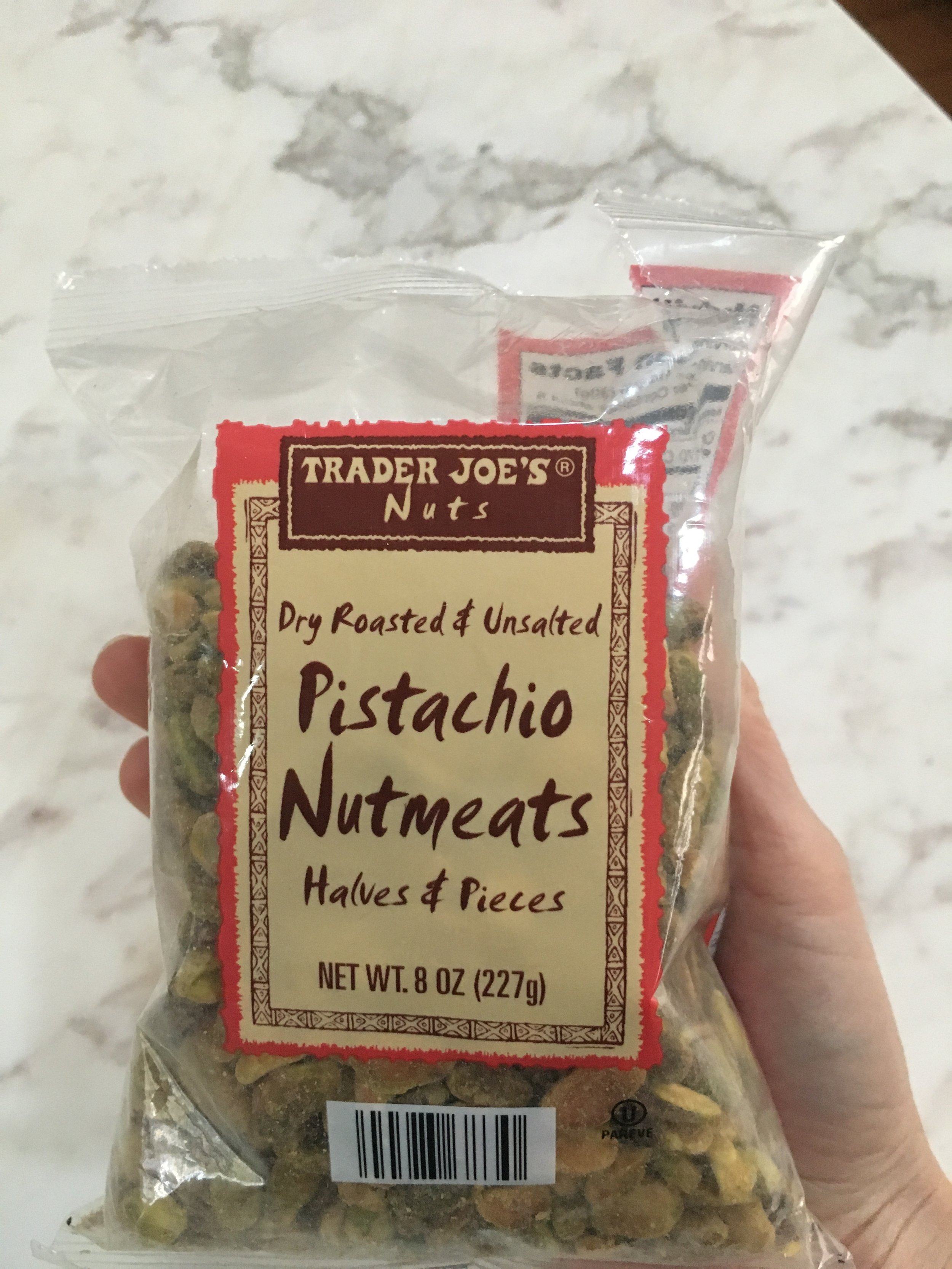 Pistachio Nuts (gives the salad crunch)
