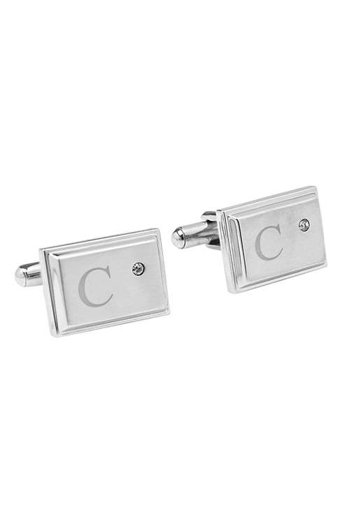 Cathy's Concepts Monogram Cuff Links: $43.95