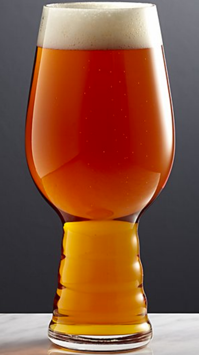 IPA Beer Glasses - Has your husband/dad been drinking as many IPAs as mine? If so, here are the perfect glasses to make those beers a little classier! You can pick these up at Crate & Barrel for $10.95 each.