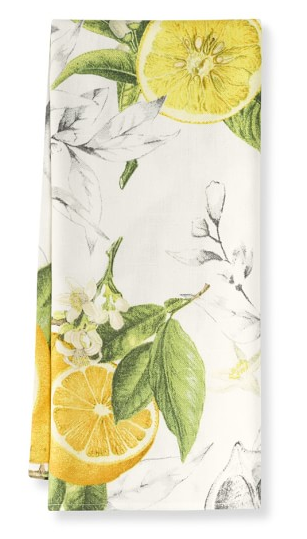 William Sonoma- Lemon Hand Towels $19.95