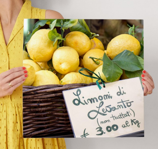 Minted-  Limoni di Levanto Artwork $64