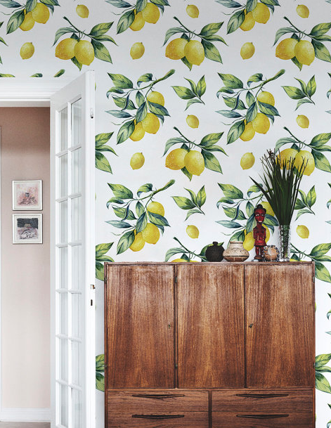 floralCOLORAY- Lemon Removable Wallpaper $34+