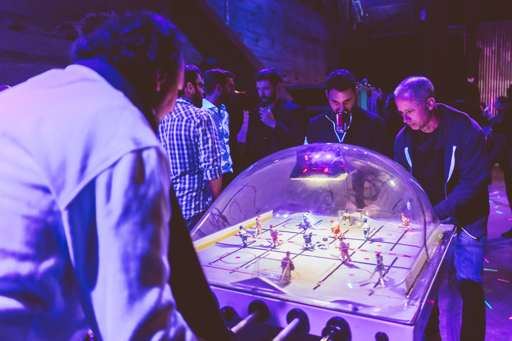 arcade hockey