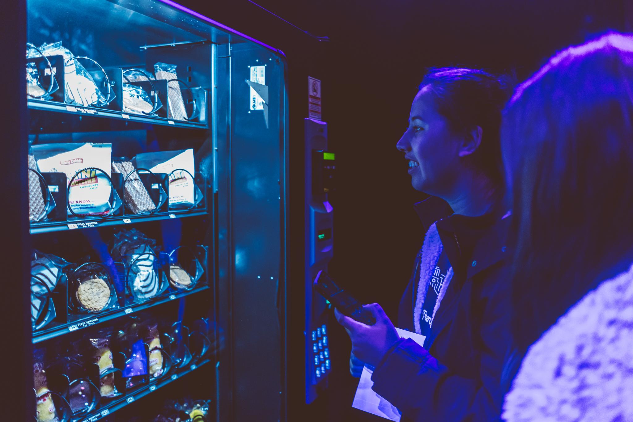 vending machine event