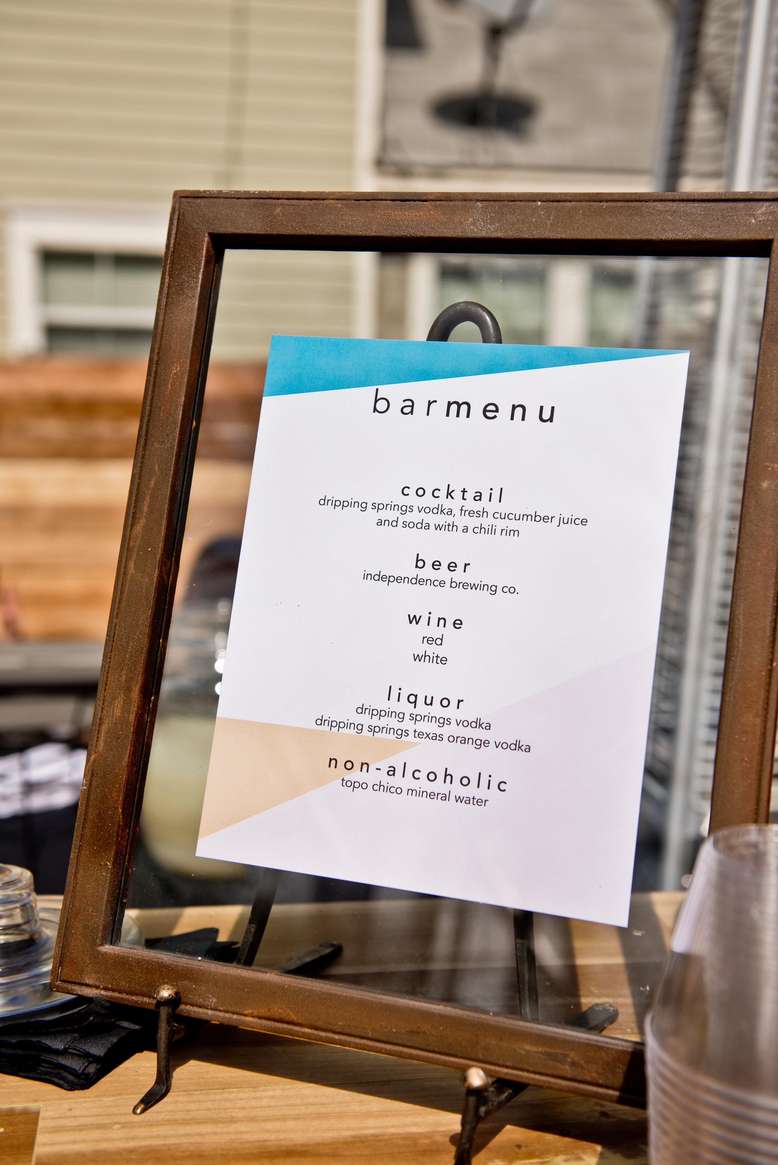 garza marfa bar menu