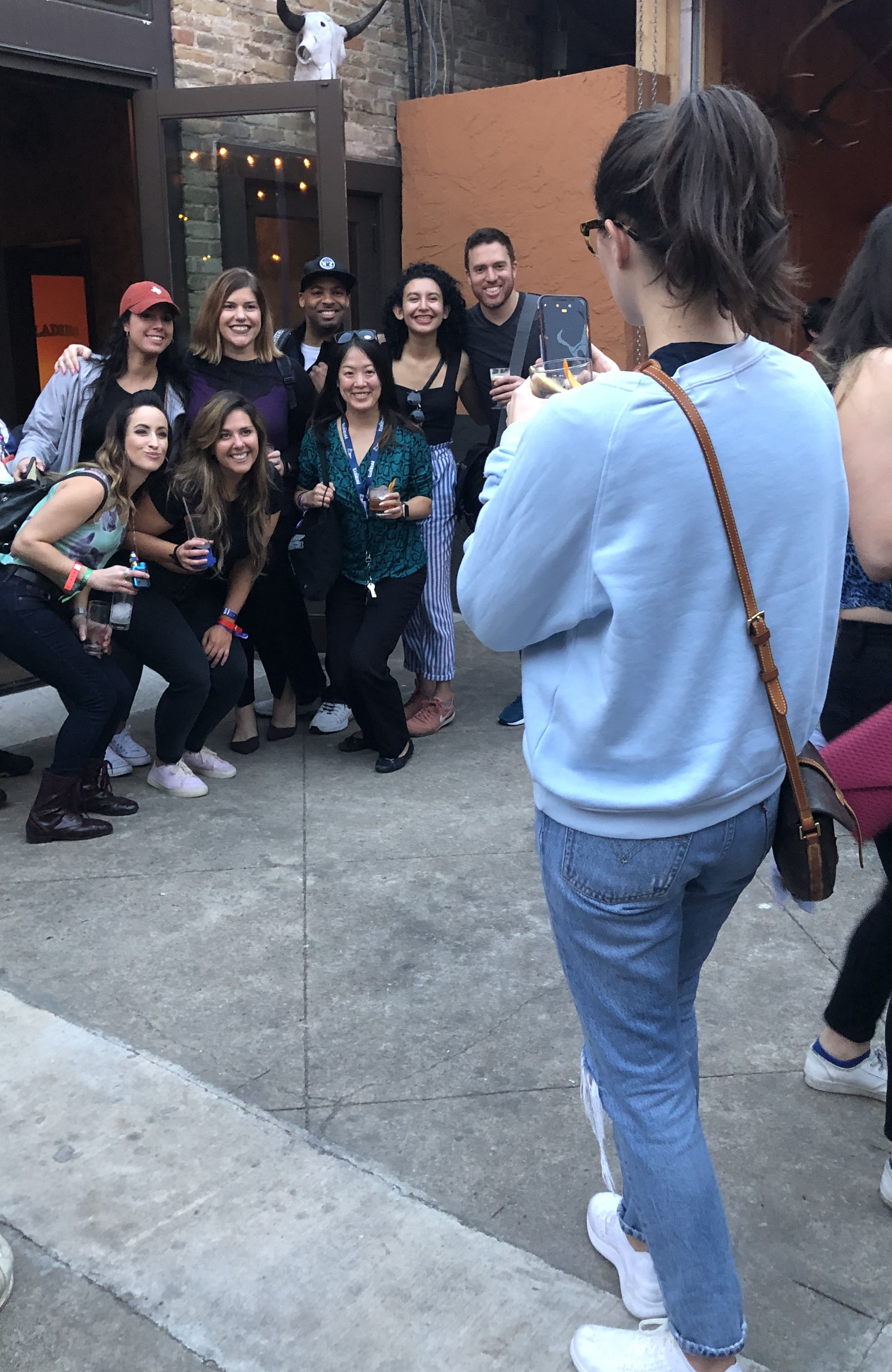 group photo party