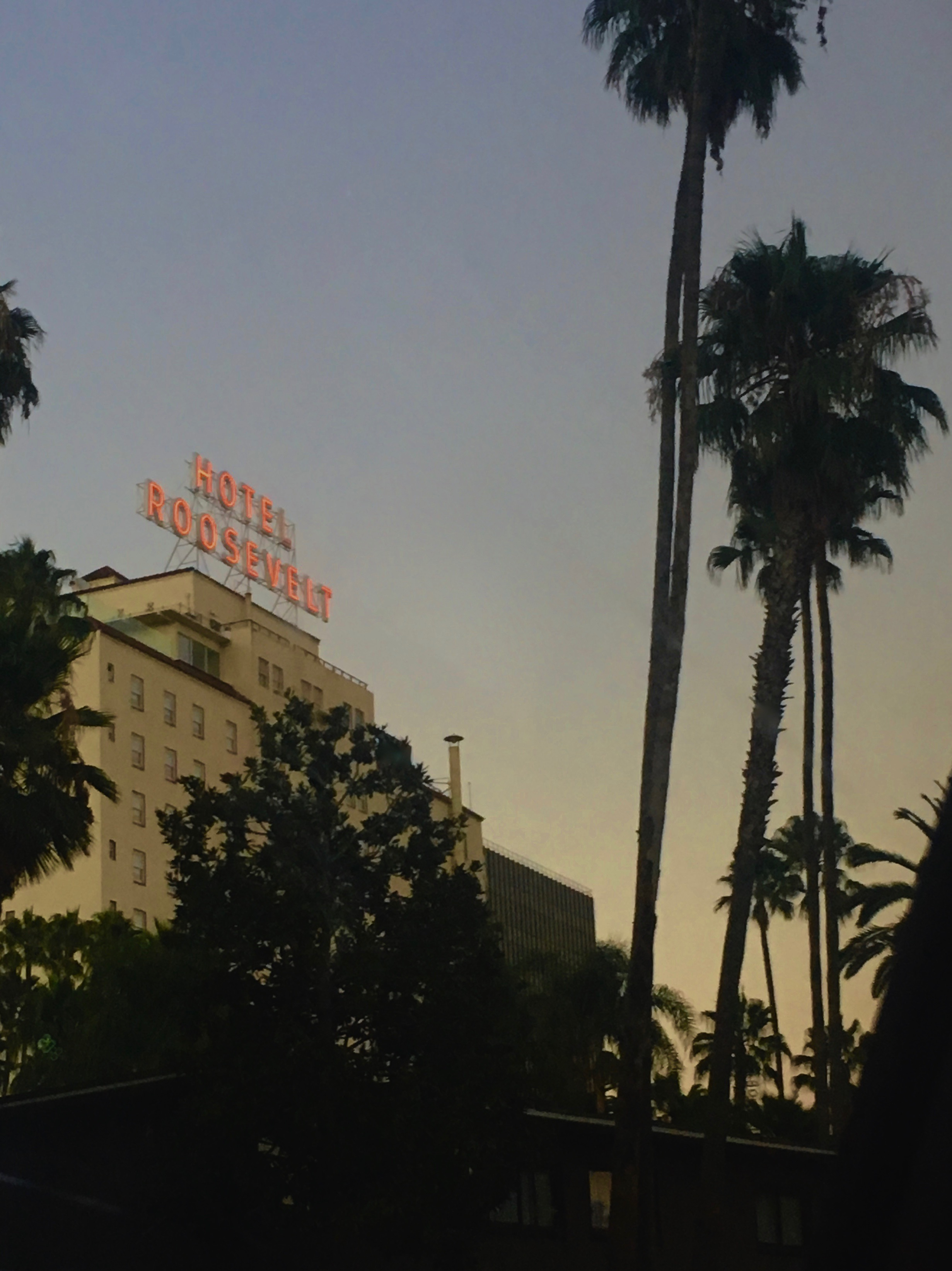 The Hollywood Roosevelt (photo by Meghan Ianiro)