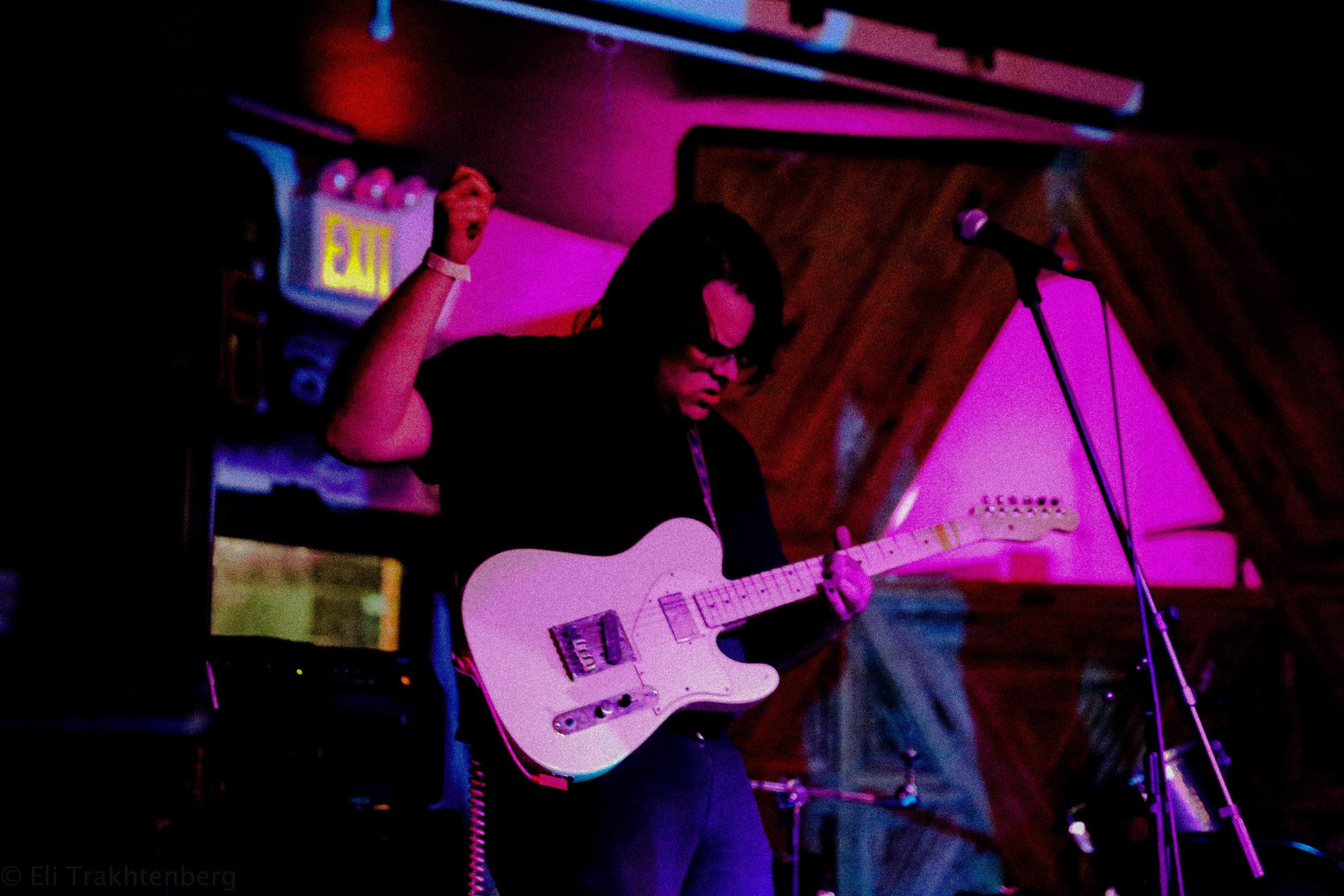 Alex Mercuri  (Guitar/Vox) of Sailor Boyfriend    Photo Credit : Eli Trakhtenberg