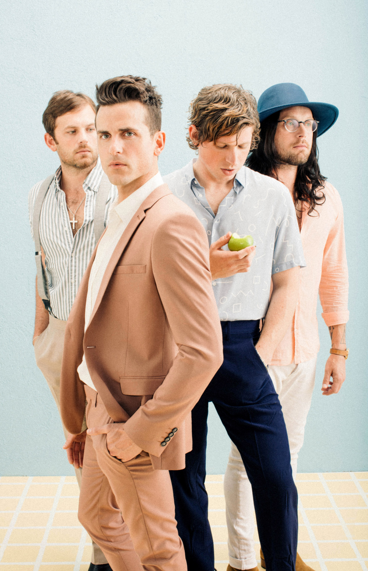 "AUGUST 2016 • KINGS OF LEON/""WALLS"" ALBUM SHOOT"