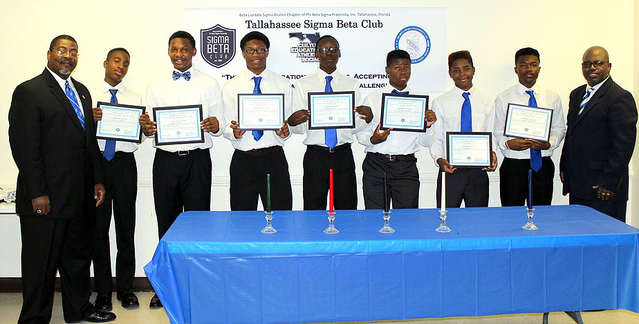 SIGMA BETA CLUB INDUCTION CEREMONY