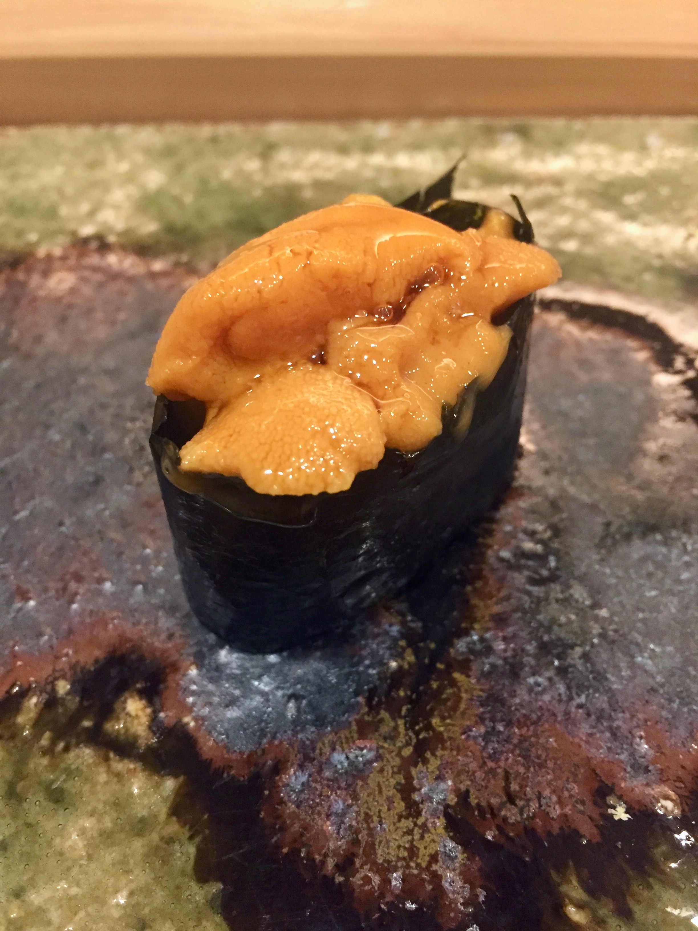 Super creamy and sweet Uni