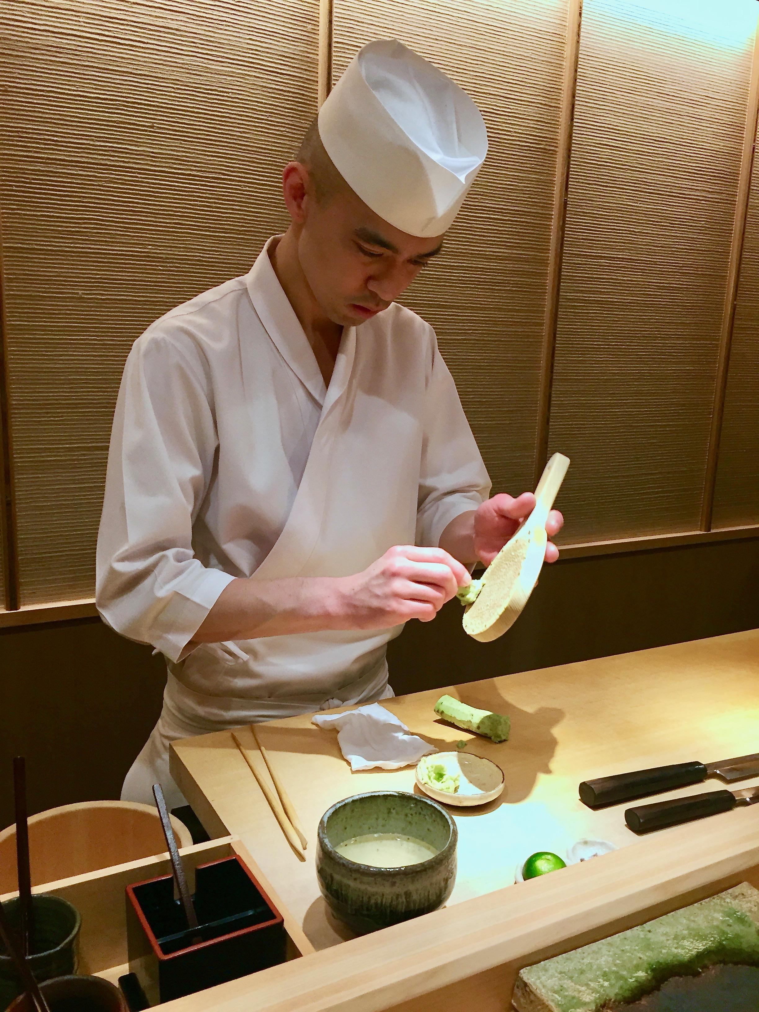 Fresh Wasabi!