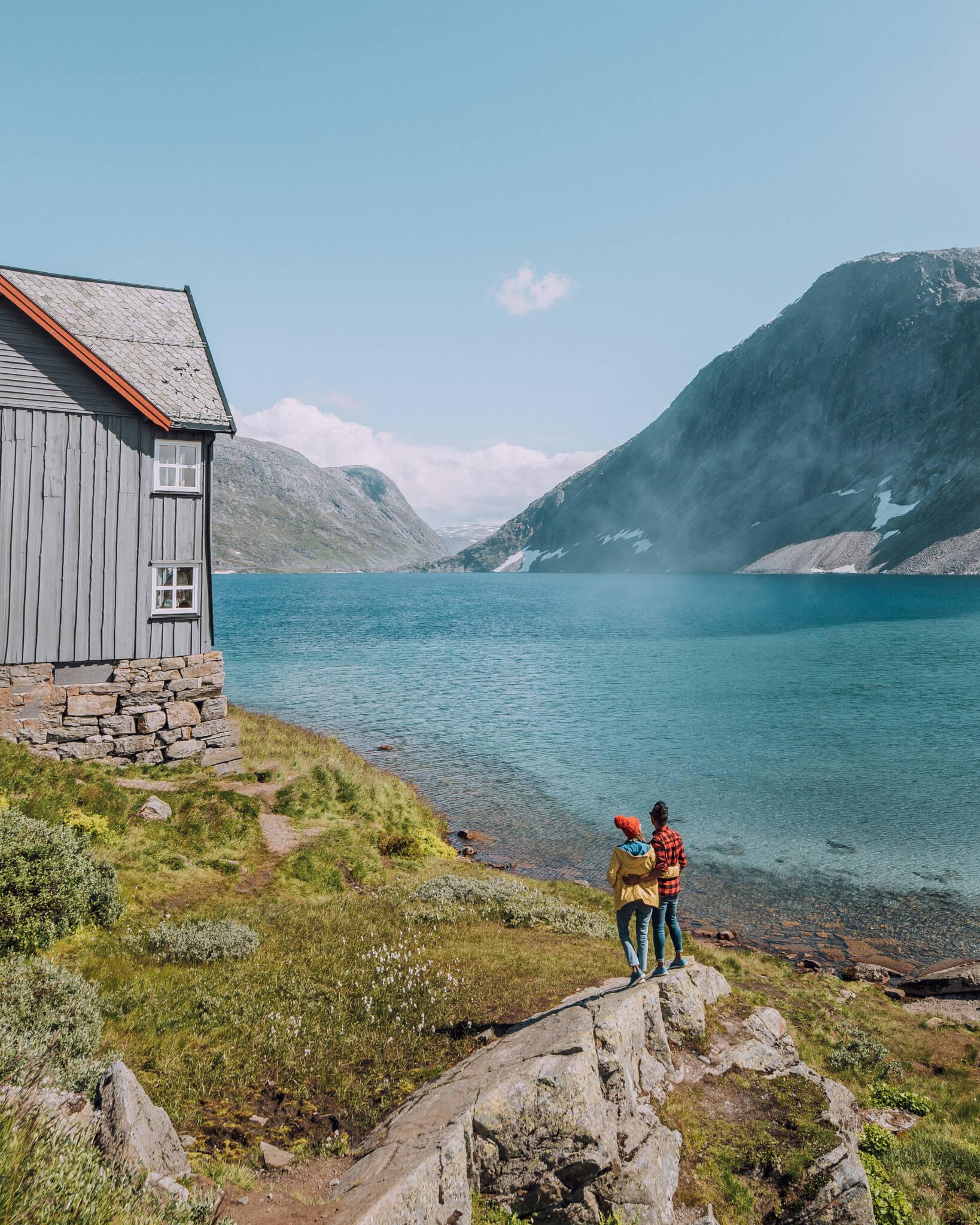Geiranger Lake