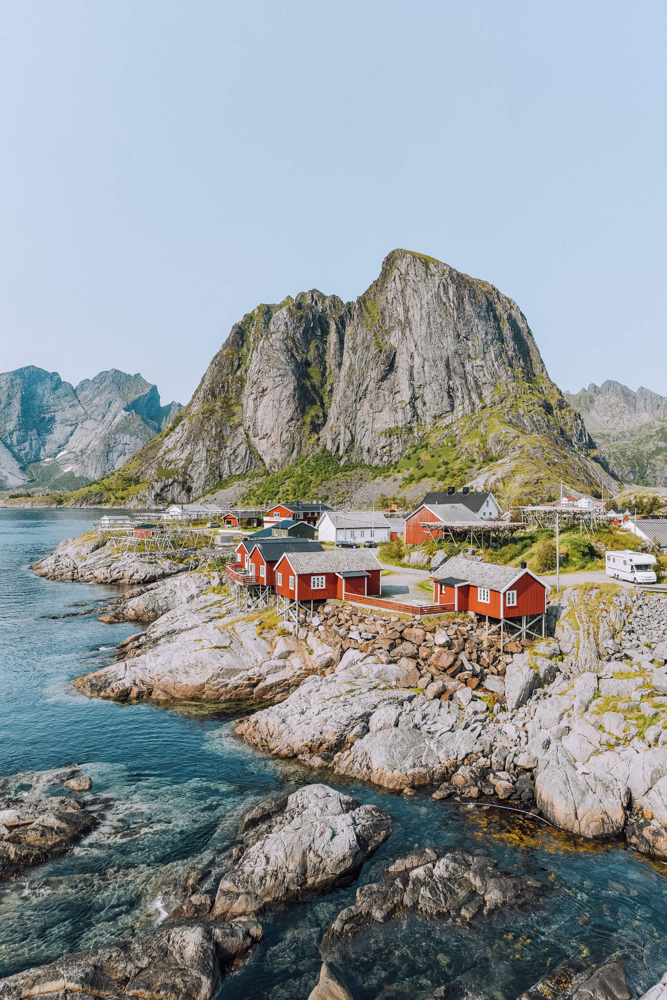 Lofoten Iconic Red Houses