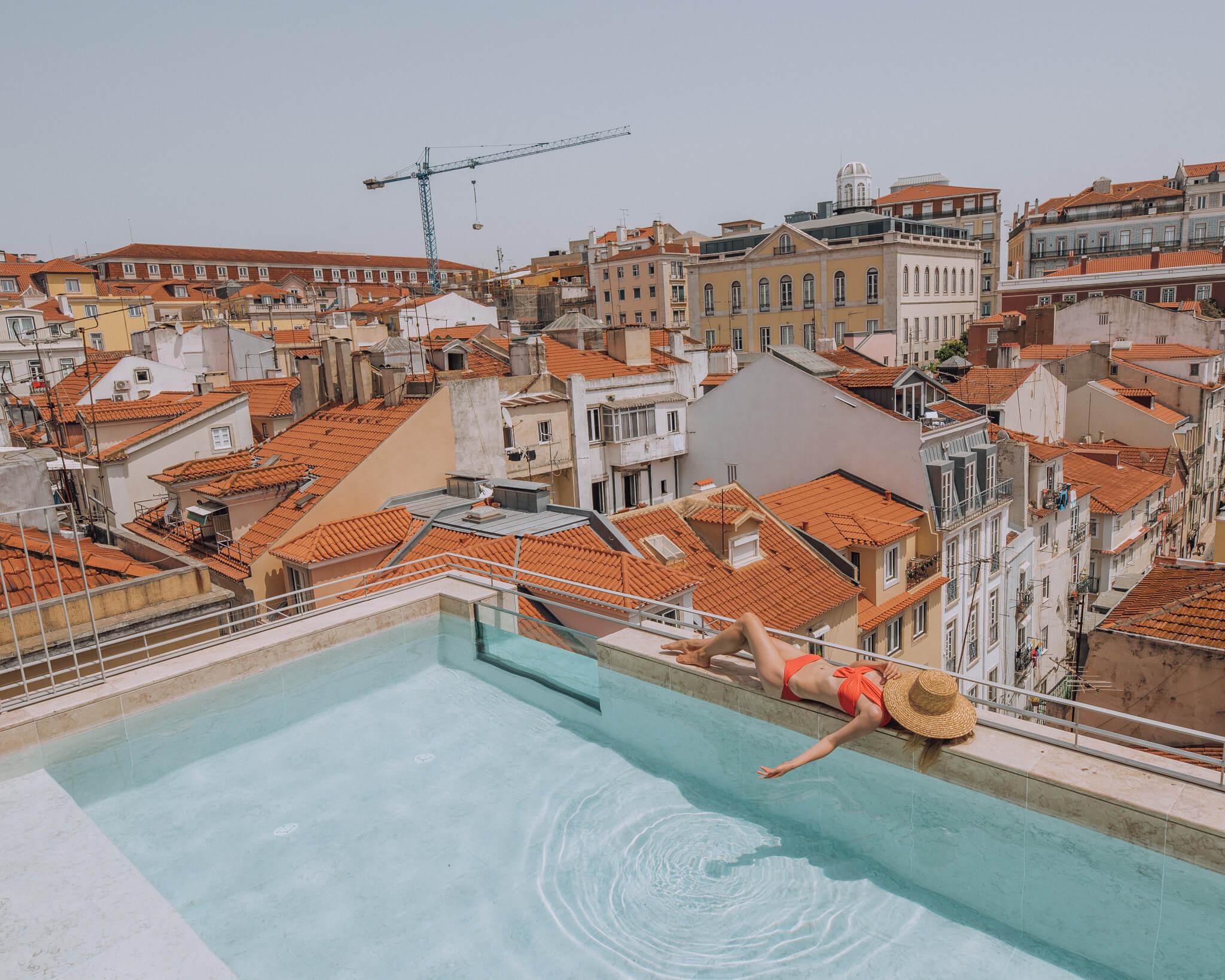 Verride Palácio Santa Catarina pool