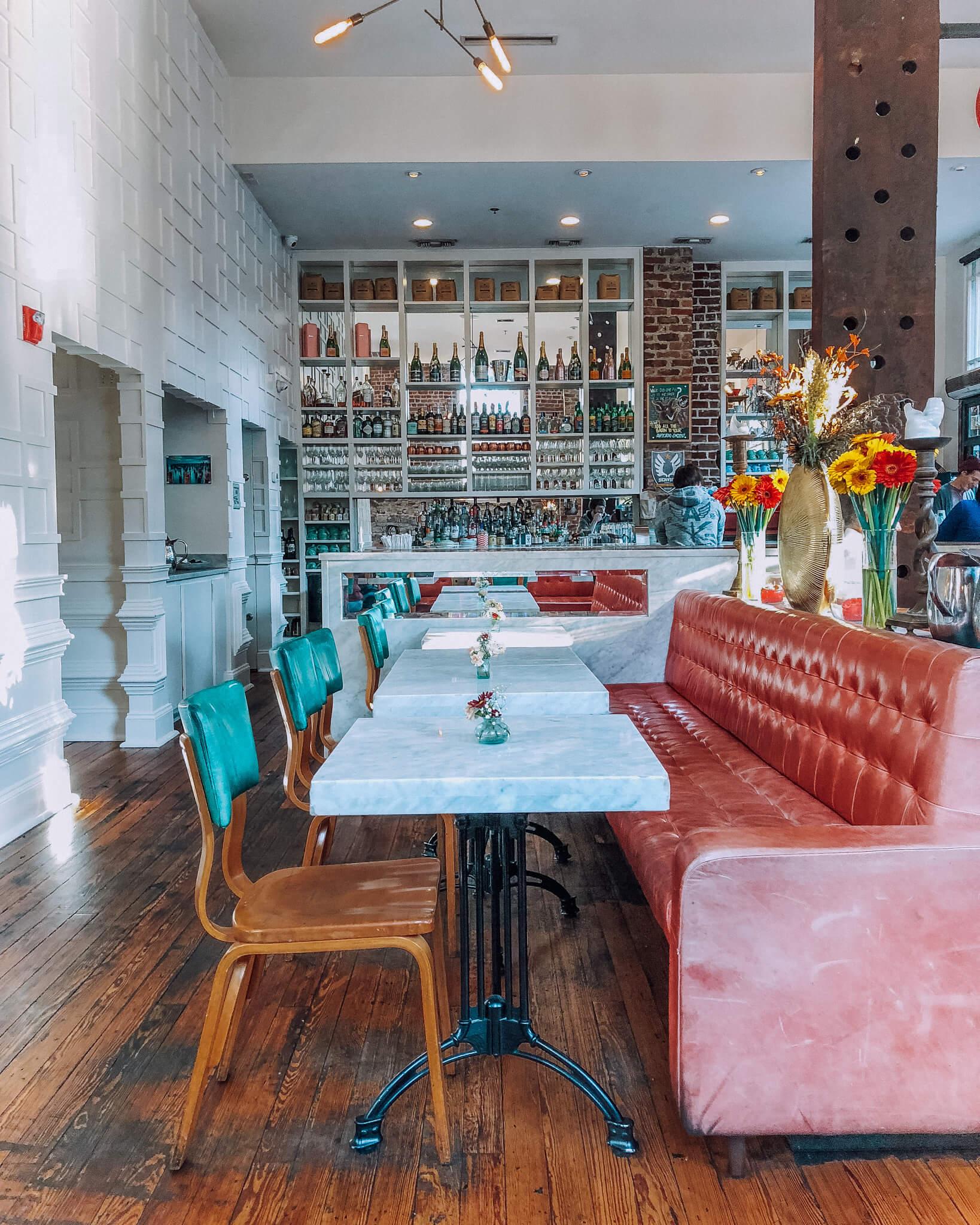 Charming Collins Quarter Cafe