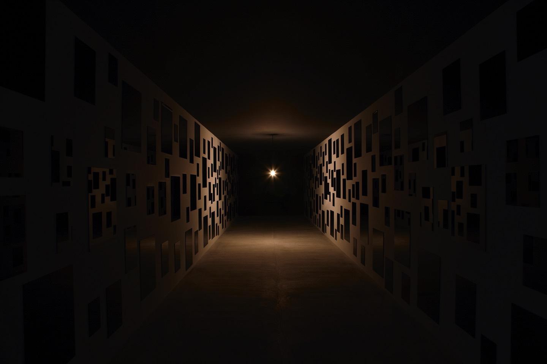 Les Archives hallway