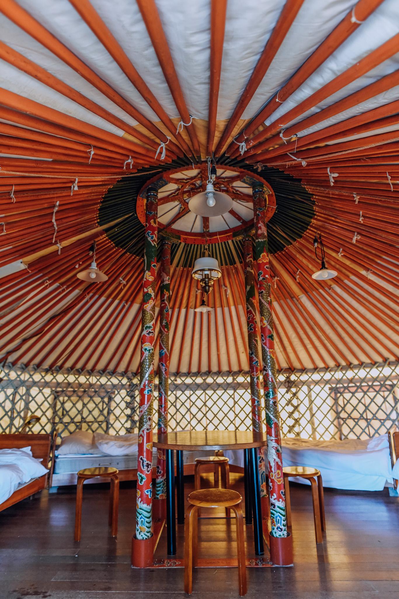 yurt naoshima interior