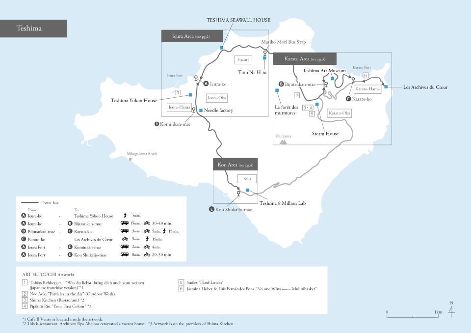 map teshima