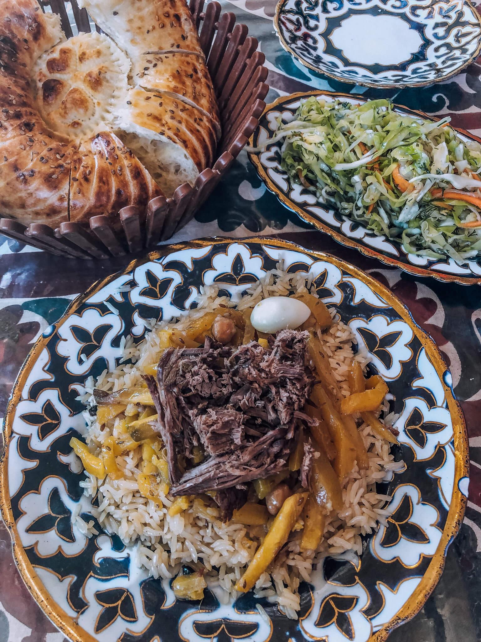 Plov - one of the staples of Uzbek Cuisine